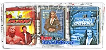 Comic Images WWE Raw Deal Absolutely Raw/Ultimate SmackDown! Wrestling Box