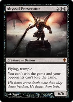 Magic the Gathering Worldwake Single Abyssal Persecutor Foil