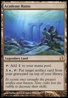 Magic the Gathering Modern Masters Single Academy Ruins FOIL - NEAR MINT (NM)