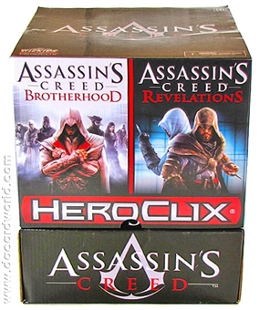 HeroClix Assassin's Creed Brotherhood & Revelations 24-Pack Booster Box