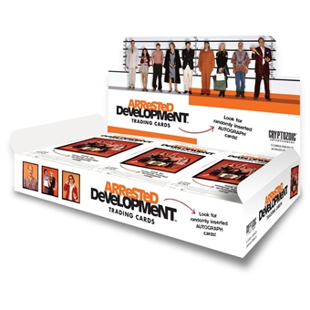 Arrested Development Trading Cards 12-Box Case (Cryptozoic 2015) (Presell)