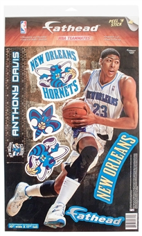 "Fathead Anthony Davis New Orleans Hornets Teammate Player Wall Graphic 10""X17"""