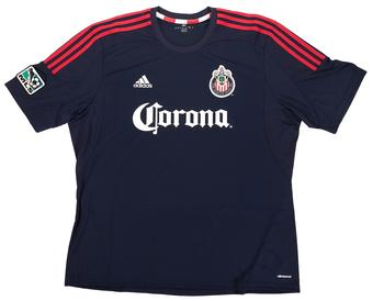 Chivas USA Adidas ClimaCool Navy Replica Jersey (Adult L)