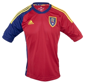 Real Salt Lake Adidas ClimaCool Red Replica Jersey (Adult XL)