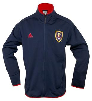 Real Salt Lake Adidas Navy Track Jacket (Adult S)