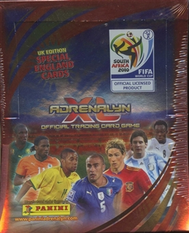 2010 Panini FIFA World Cup Adrenalyn XL Soccer Box - U.K. Edition (100 Pack Box)