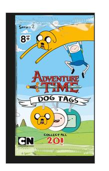 Adventure Time Card Wars Dog Tag Series Two Pack (Cryptozoic)