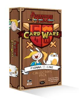 Adventure Time Card Wars Collecter's Pack: Fionna vs Cake (Cryptozoic)