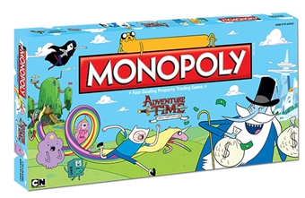 Adventure Time Collector's Edition Monopoly Board Game (USAopoly)
