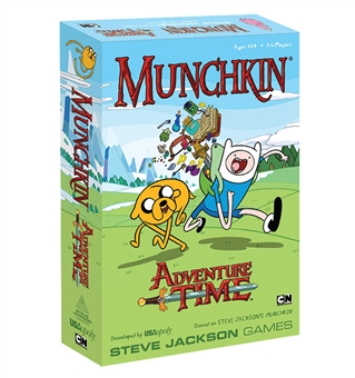 Adventure Time Munchkin Game (USAopoly) (Presell)