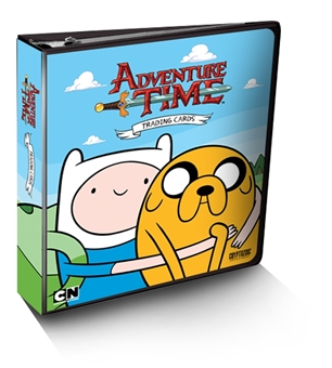 Adventure Time Trading Cards Album/Binder (Cryptozoic 2014)