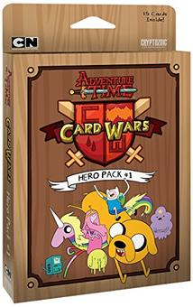 Adventure Time Card Wars Hero Pack 1 (Cryptozoic)