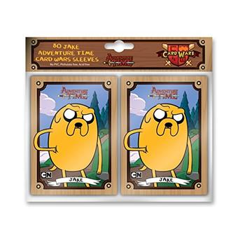 Adventure Time Card Wars 80ct Sleeves - Jake (Cryptozoic)