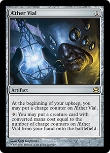 Magic the Gathering Modern Masters Single AEther Vial - NEAR MINT (NM)