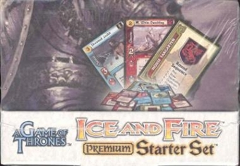 Fantasy Flight Games A Game of Thrones Ice & Fire Premium Starter Box