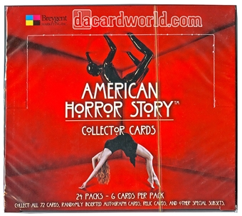 American Horror Story Trading Cards Box (Breygent 2014)