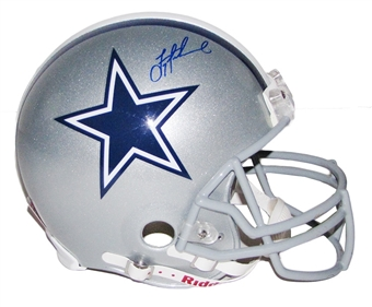Troy Aikman Autographed Dallas Cowboys Full Size On Field Helmet (Aikman Holo)