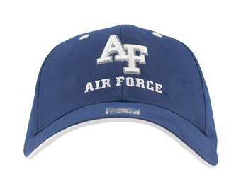 Air Force Falcons Top Of The World Calamity Blue Adjustable Hat (Adult One Size)