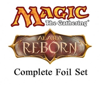 Magic the Gathering Alara Reborn Complete Set FOIL - FACTORY SEALED