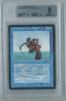 Magic the Gathering Arabian Nights Single Old Man of the Sea BGS 9 MINT (9.5, 9, 9, 9.5)