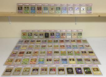 Pokemon Team Rocket 1st Edition Almost Complete (missing 1 card) Set PSA GRADED