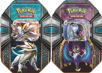 Pokemon Legends of Alola Tin Case