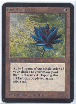 Magic the Gathering Alpha Single Black Lotus SLIGHT / MODERATE PLAY (SP/MP)