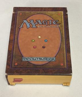 Magic the Gathering EMPTY Alpha Starter Deck - NO CARDS INSIDE
