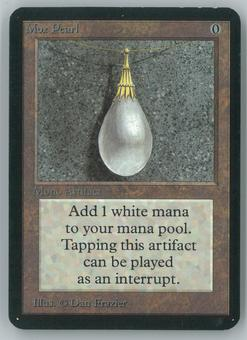 Magic the Gathering Alpha Single Mox Pearl - NEAR MINT MINUS (NM-)