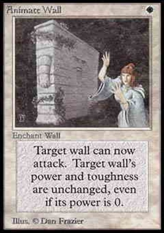 Magic the Gathering Alpha Single Animate Wall LIGHT PLAY (NM)
