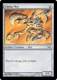 Magic the Gathering Mirrodin Single Alpha Myr Foil