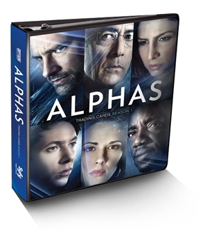 Alphas Season One Trading Cards Album/Binder (Cryptozoic 2013)