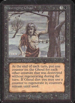 Magic the Gathering Alpha Single Scavenging Ghoul - NEAR MINT (NM)