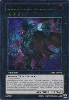 Yu-Gi-Oh Shadow Specters Single Ghostrick Alucard Ultimate Rare Near Mint (NM)