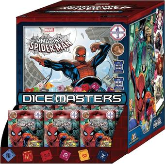 Marvel Dice Masters: The Amazing Spider-Man Gravity Feed Box (90 Ct.) (Presell)
