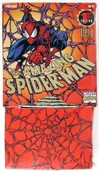 The Amazing Spiderman 1st Edition Rack Box (1994 Fleer)