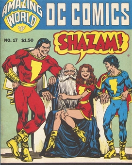 Amazing World of DC Comics Magazine #17 All Shazam Captain Marvel Issue