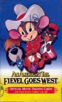 An American Tail: Fievel Goes West Hobby Box (1991 Impel)
