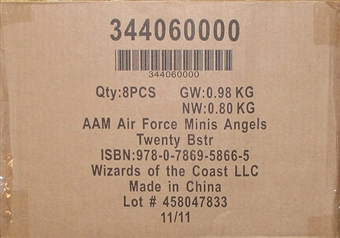 Axis & Allies Miniatures Air Force Angels 20 Booster Case (8 ct)