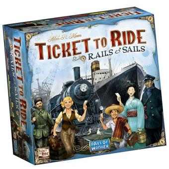 Ticket To Ride: Rails & Sails (Days Of Wonder)