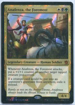 Magic the Gathering Khans of Tarkir Prerelease Single Anafenza, the Foremost FOIL - NEAR MINT (NM)