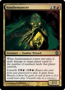 Magic the Gathering Alara Reborn Single Anathemancer FOIL