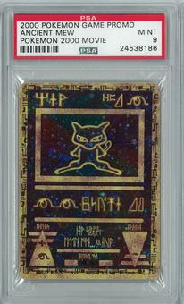 Pokemon 2000 Movie Promo Ancient Mew Holo PSA 9
