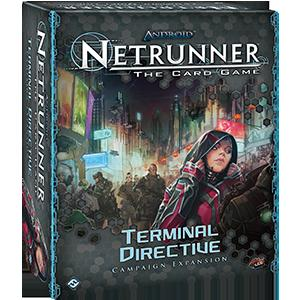 Android Netrunner LCG: Terminal Directive Campaign Expansion (FFG)
