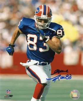 Andre Reed Autographed Buffalo Bills 8x10 Football Photo