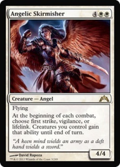 Magic the Gathering Gatecrash Single Angelic Skirmisher - NEAR MINT (NM)