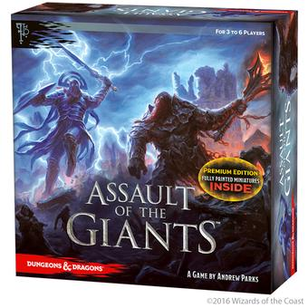 Dungeons and Dragons: Assault of the Giants Board Game Premium (WizKids)