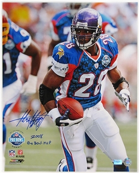 Adrian Peterson Autographed 2008 Pro Bowl 16x20 Photo