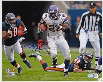 "Adrian Peterson Autographed Minnesota Vikings ""ROY"" 16x20 Photo"