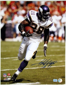 "Adrian Peterson Autographed Minnesota Vikings 16x20 Photo ""Run"""